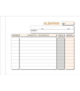 Talonario albaran 8º apaisado original+copia loan t-123 621237 - T123
