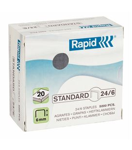 Grapas c.5000 24/6 blue ga l rapid 24859800