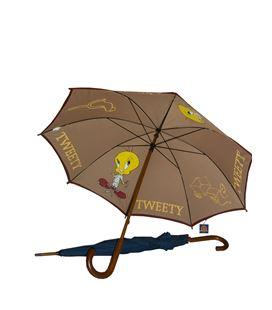 Paraguas mango madera tweety wb 36708 - 15115