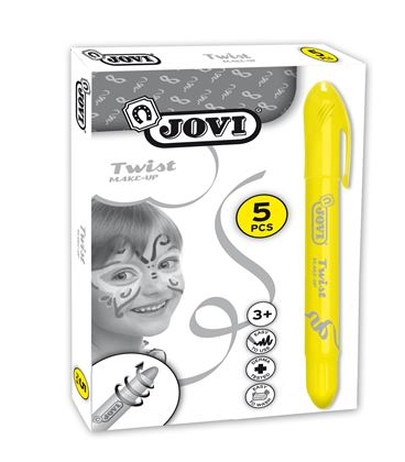 Maquillaje barra amarillo sticks jovi 191/02 028578 - 112204