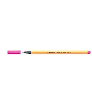 Rotulador 04 punta fibra rosa fluor point 88 stabilo 88/056 - 190889