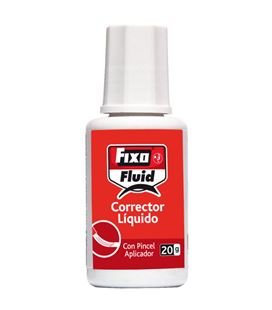 Corrector liquido pincel 20ml fluid fixo 30300 - 00030300