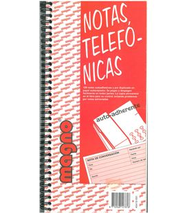 Cuaderno 120h mensaje telefonica removible atlanta a5419.591 - 02064
