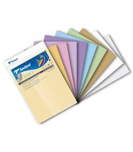 Cartulina a4 10h colores palidos sadipal 07388