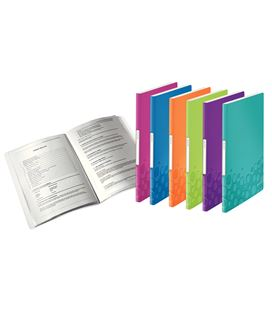 Carpeta 40 fundas a4 pp leitz wow surtidos esselte 4632-00-99 - 4632-00-99
