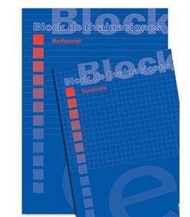 Bloc evaluacion examen fº 4x4 membrete tapa pacsa 18705 - 18705