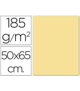 Cartulina 50x65cms 25h 185grs crema guarro 200040219