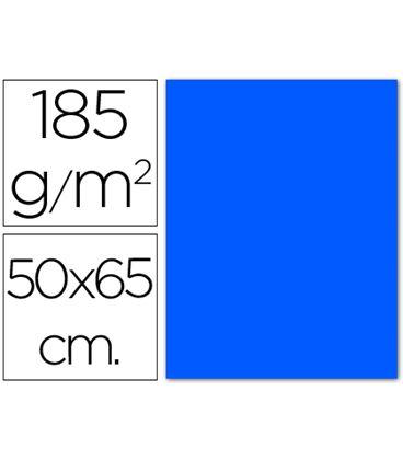 Cartulina 50x65cms 25h 185grs azul mar guarro 200040234 - 200040234
