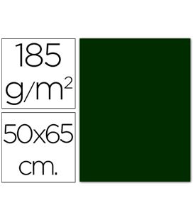 Cartulina 50x65cms 25h 185grs verde amazonas guarro 0040240