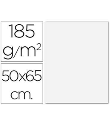 Cartulina 50x65cms 25h 185grs blanco guarro 200040218 - 200040218