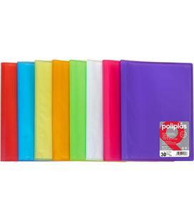 Carpeta 30 fundas folio violeta trans. poliplas grafolioplas 01471235 - 01471235
