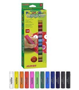 Tempera en barra pintacolor 12u. alpino px000012 580010 - PX000012
