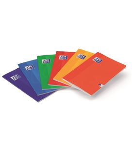 Cuaderno grapa a5 48h 90g 4x4 t/blanda mrg 6c surtidos oxfoliord 100105702 - 170893