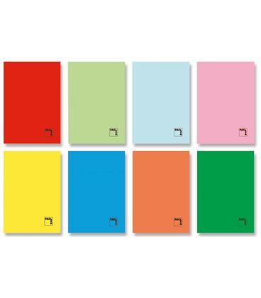 Cuaderno grapa folio 4x4 50h 70grs tapa color pacsa 20060 - 170875