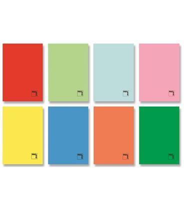 Cuaderno grapa 4º 4x4 50h 70grs tapa color pacsa 20070 - 170877