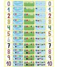 Gomet bolsa figuras numeros de 0 a 10 12h apli 11678 - 112395
