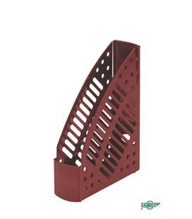 Revistero plastico 320x245x75 burdeos faibo 150-13 - 150-13