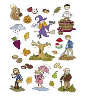 Gomet bolsa etiquetas otoño 3h apli 11616