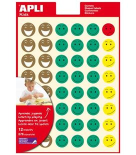 Gomet bolsa figuras mr. smiley 12h apli 11680