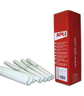 Forro adhesivo transparente 0,50mtsx3mts apli 00429