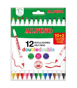 Rotulador escolar doble c.10 alpino ar000013 449430 - 114544