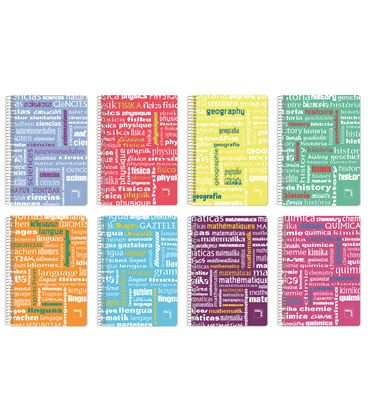 Cuaderno cuarto 4x4 80h 90grs pp fisica pacsa 16543 - 170589