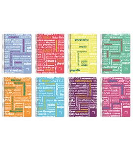Cuaderno cuarto 4x4 80h 90grs pp geografia pacsa 16539