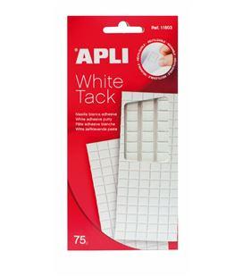 Masilla adhesiva 75grs blanca apli tack 11803 - 11803