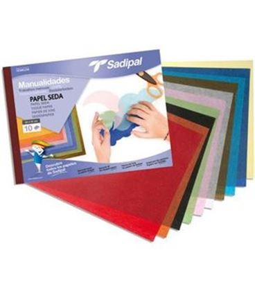 Papel seda bloc 10h colores sadipal 05979 - 113883
