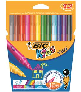 Rotulador escolar kids couleur c.12 bic 0027580 920294