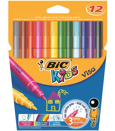 Rotulador escolar kids couleur c.12 bic 0027580 920294 - 114225