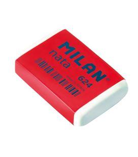 Goma de borrar miga pan nata tira celofan 624 milan 6242
