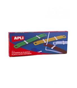 Fasteners plastico colores surtidos c.50 apli 14909