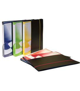 Carpeta 100 fundas folio poliuro azul con goma grafolioplas 39709010 - 221309