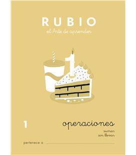 Cuaderno escolar operaciones nº1 rubio 10950 - CALCULO 1 CASTELLANO-1 COPIA