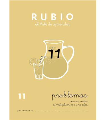 Cuaderno escolar problemas nº11 rubio 10966 - CALCULO 11