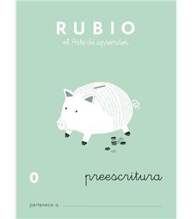 Cuaderno escolar preescritura 0 rubio 10913