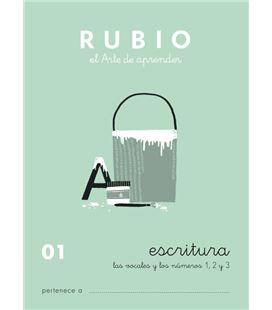 Cuaderno escolar escritura 01 rubio 10914