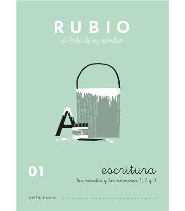 Cuaderno escolar escritura 01 rubio 10914 - ESCRITURA 01