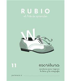 Cuaderno escolar escritura 11 rubio 10934