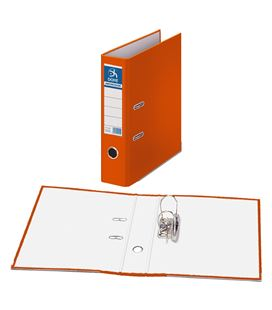 Archivador palanca folio 70mm naranja archicolor dohe 90126