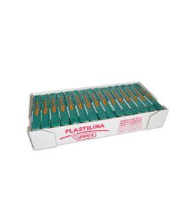 Plastilina 150 grs verde oscuro jovi 71/11