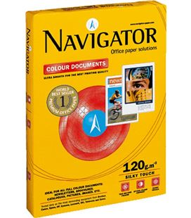 Papel a4 250h 120grs colour document laser navigator 140372 - NAVIGATOR 120GR