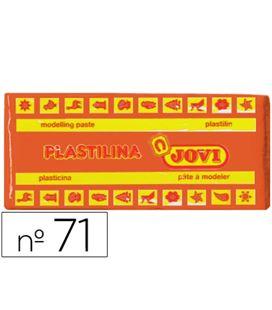 Plastilina 150 grs naranja jovi 71/04