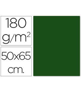 Cartulina 50x65cms 25h 185grs verde abeto guarro 200040239