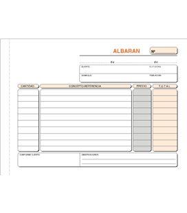Talonario albaranes 4º apaisado 50h original+copia loan t-119 421196 - T119