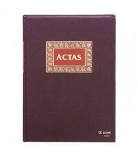 Libro contable fº actas 100h dohe 09905 - 09905