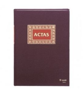 Libro contable folio actas 100h dohe 09905 - 09905