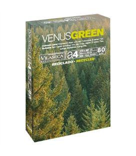 Papel a4 500h 80grs reciclado venus green 101380 - VENUSGREEN