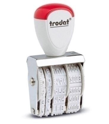 Fechador manual 4mm trodat 1020 - 19201030